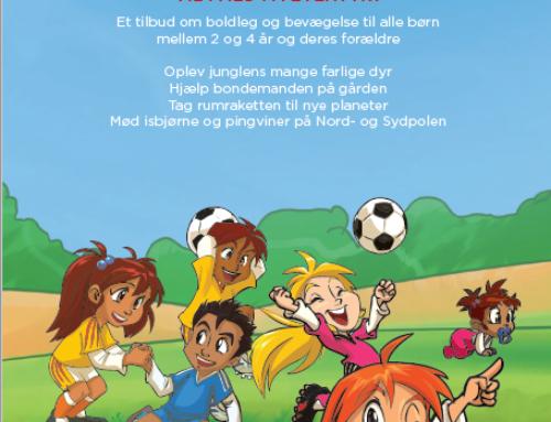 Bold og bevægelse for 2-4årige