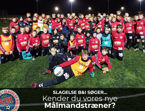 SLAGELSE B&I SØGER MÅLMANDSTRÆNER
